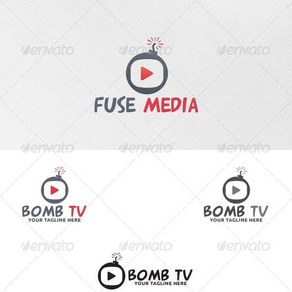 Bomb TV - Logo Template