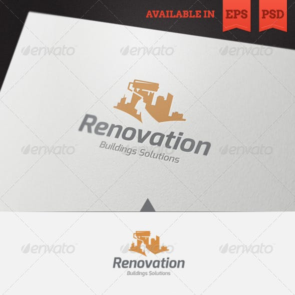 Renovation Logo Template