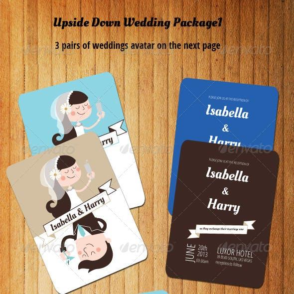 Upside Down Wedding Package I
