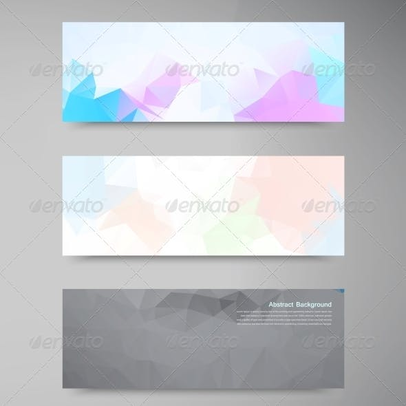Vector Abstract Background Polygonal Pattern