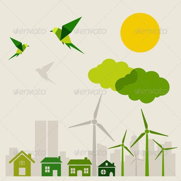 Ecology a city