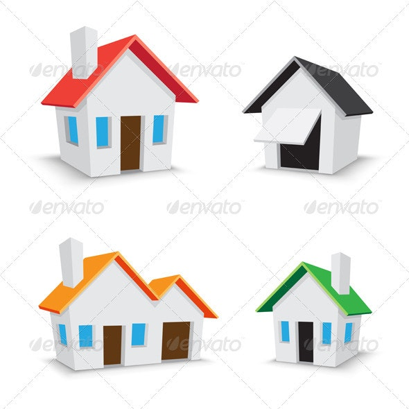 Home icon - Buildings Objects