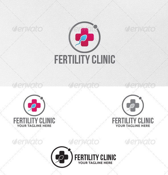Fertility Clinic - Logo Template - Symbols Logo Templates