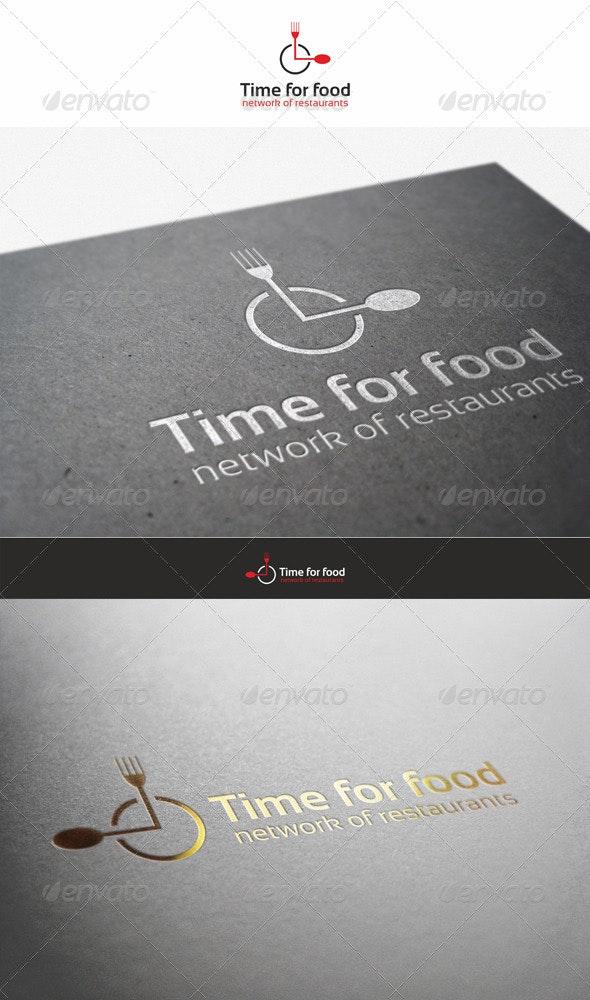Time for Food - Restaurant Logo - Restaurant Logo Templates