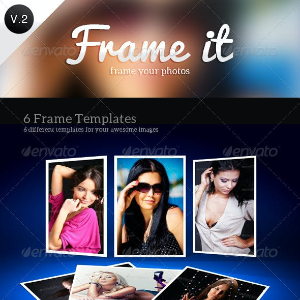 Frame It Photo Templates V2