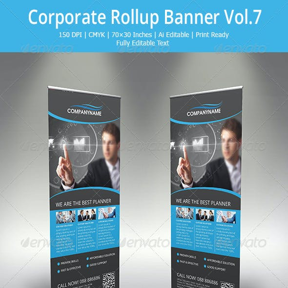 Corporate Roll-up banner - 7