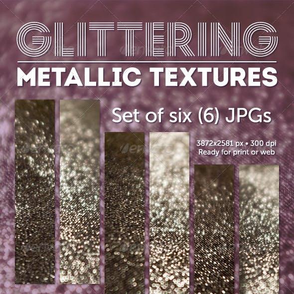 Glittering Metallic Textures