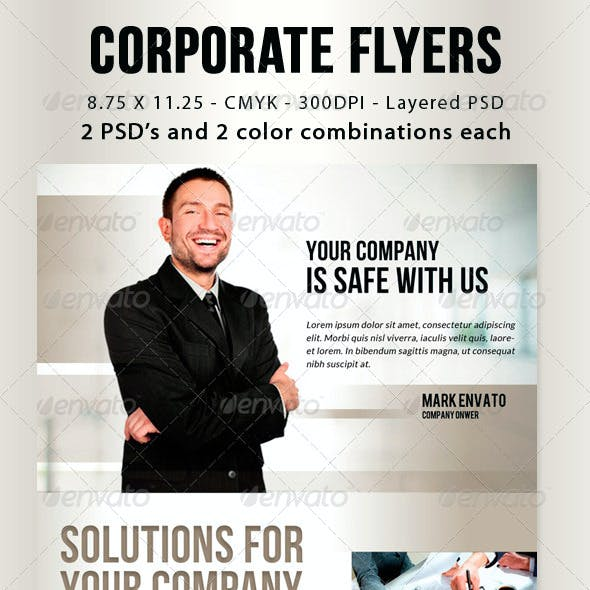 Corporate Flyers vol 1