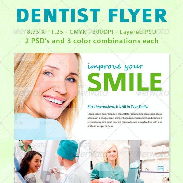 Dentist Flyer / Magazine Ad