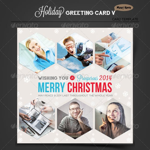 Let It Snow - Holiday Greeting Card