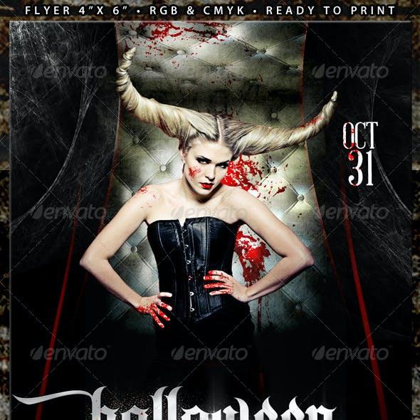 Halloween 2 (Flyer Template 4x6)