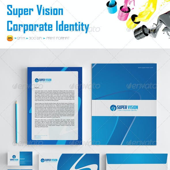 Super Vision Corporate Identity Package