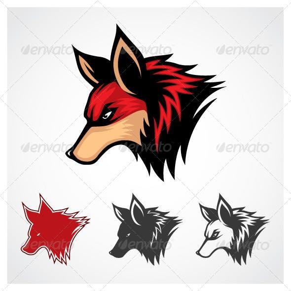Vector Fox Symbol