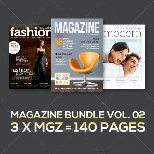 3 X Magazine Collection (Mgz Bundle Vol. 02)