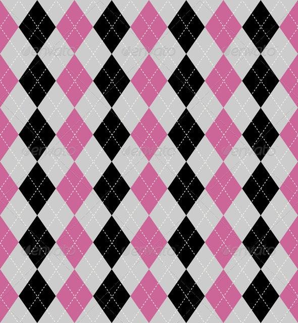 Argyle pattern - Backgrounds Decorative