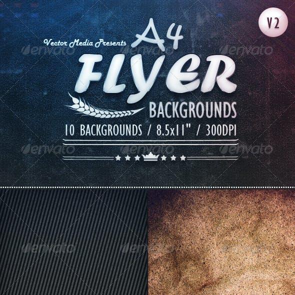 A4 - Flyer Backgrounds [Vol.2]