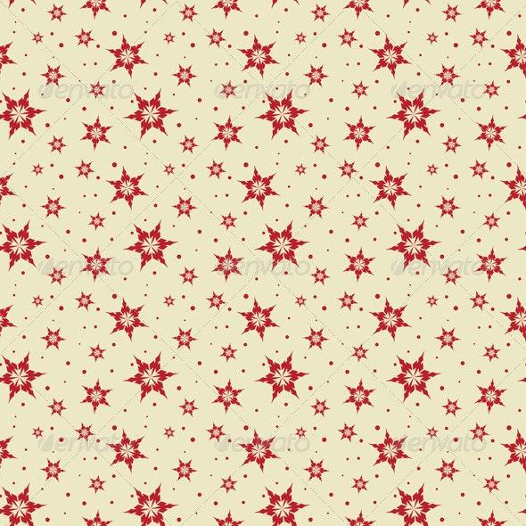 Seamless tile snowflake background - Christmas Seasons/Holidays