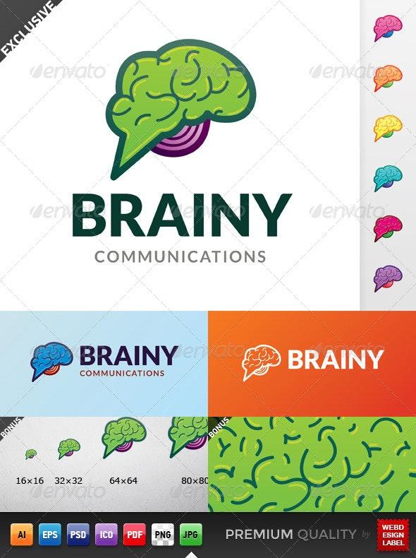Brainy Communications Logo - Objects Logo Templates