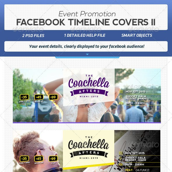 Facebook Event Promotion Covers II