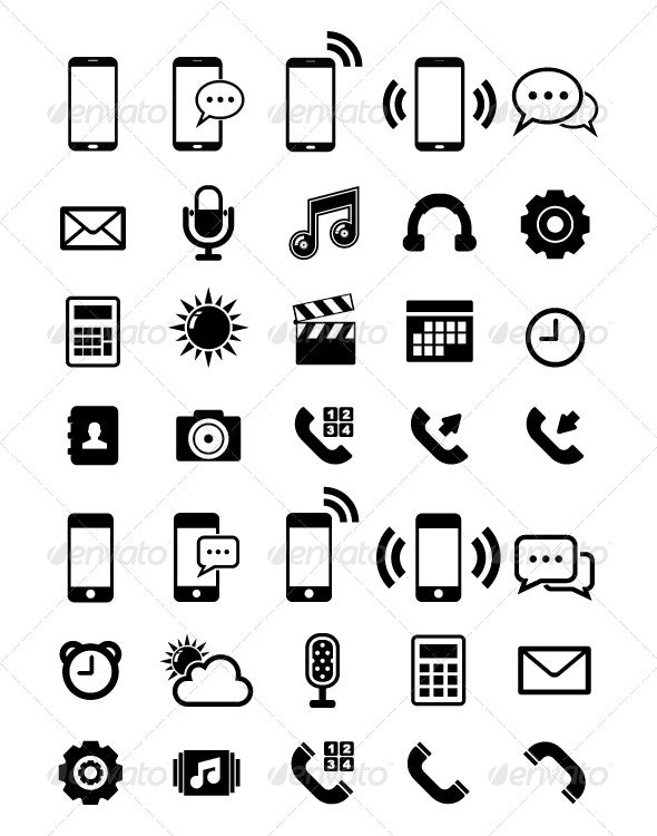 Phone Icon - Technology Icons