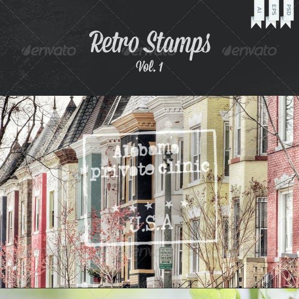 Retro Stamps Vol. 1