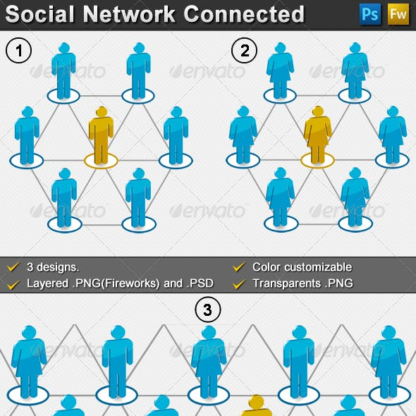 Social Network Connected - Set 01