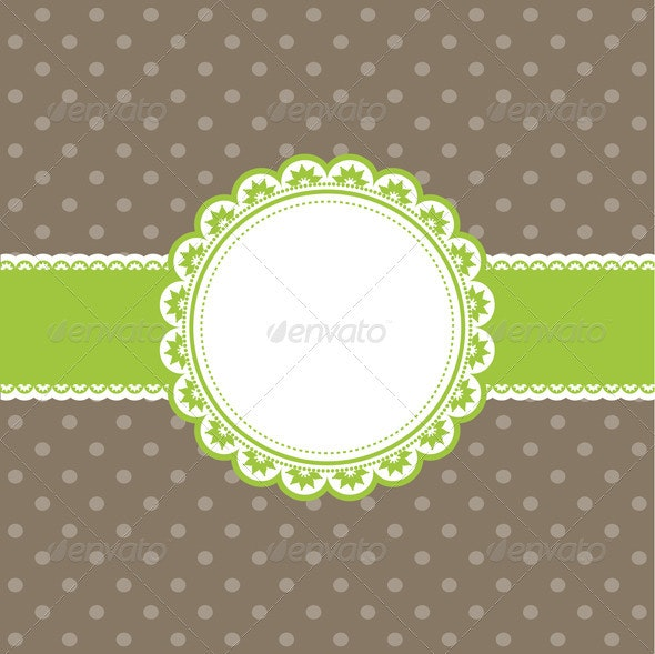 Cute polka dot background - Backgrounds Decorative