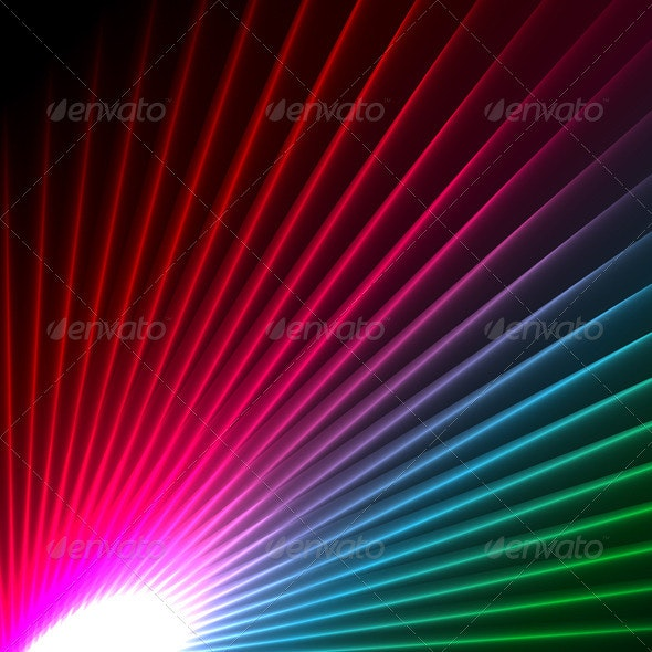 Abstract starburst background - Backgrounds Decorative