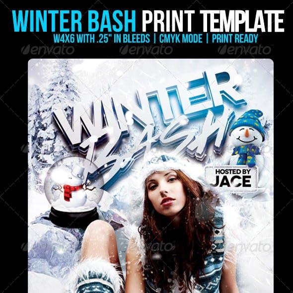 Winter Bash Flyer