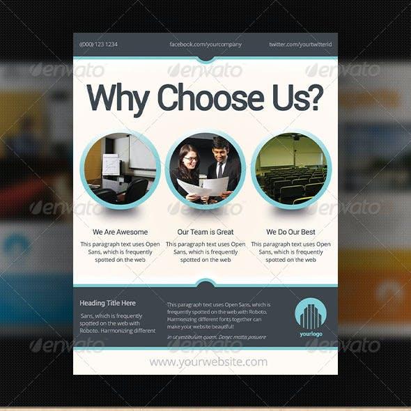 Corporate Flyer Design Template 2