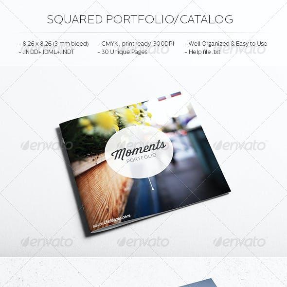 Square Catalog/Portfolio Template