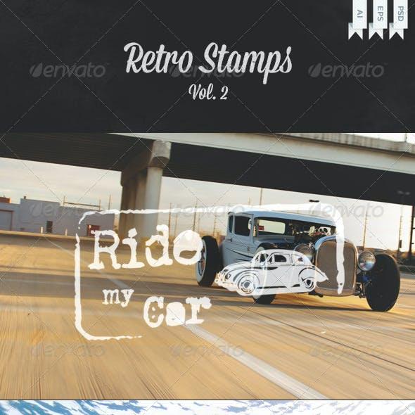 Retro Stamps Vol. 2