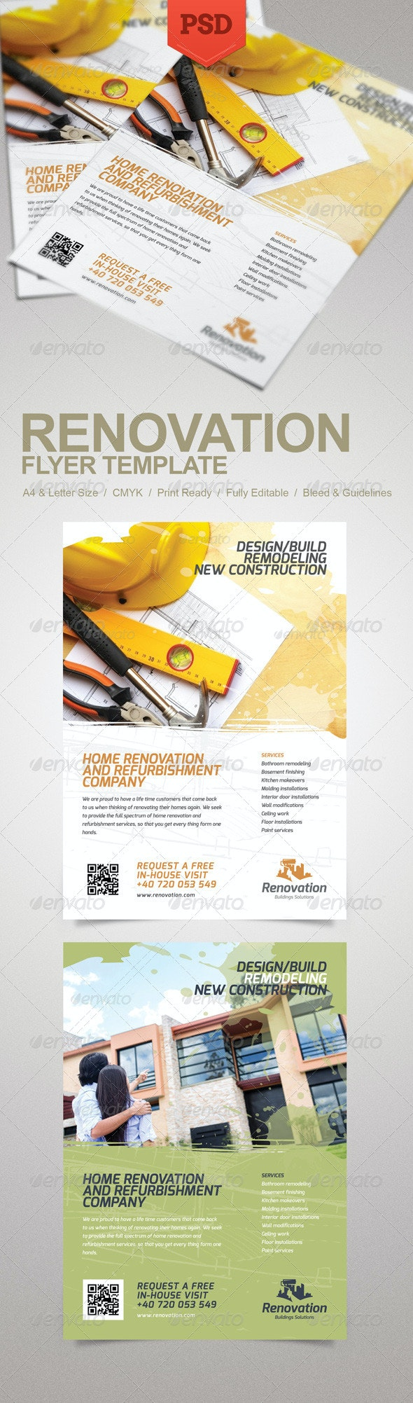 Renovation Flyer - Corporate Flyers