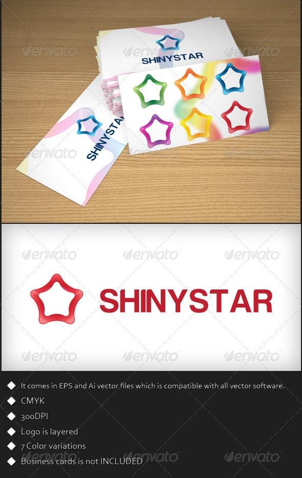 Shiny Star Logo Template - Symbols Logo Templates