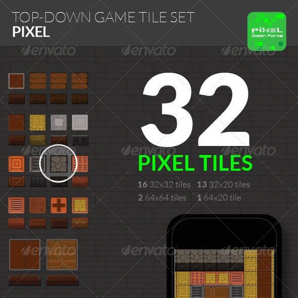 Top-Down Game Tiles