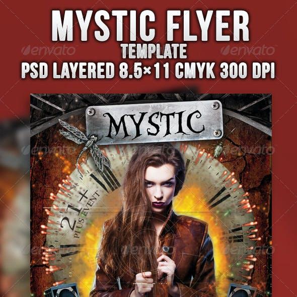 Mystic Flyer Template