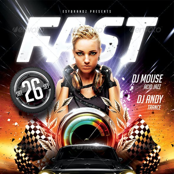Fast Flyer Template