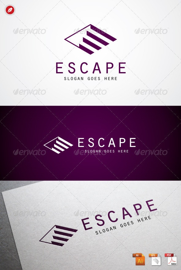 Escape Logo - Objects Logo Templates