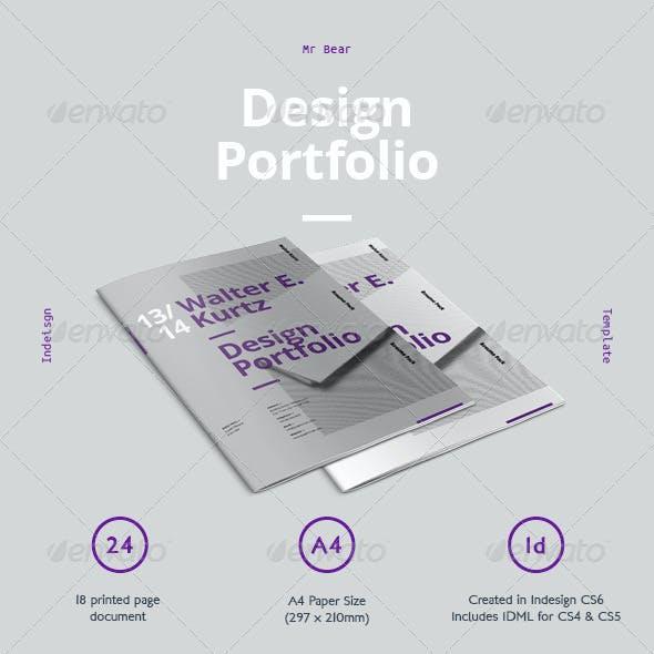 Mr Design Portfolio