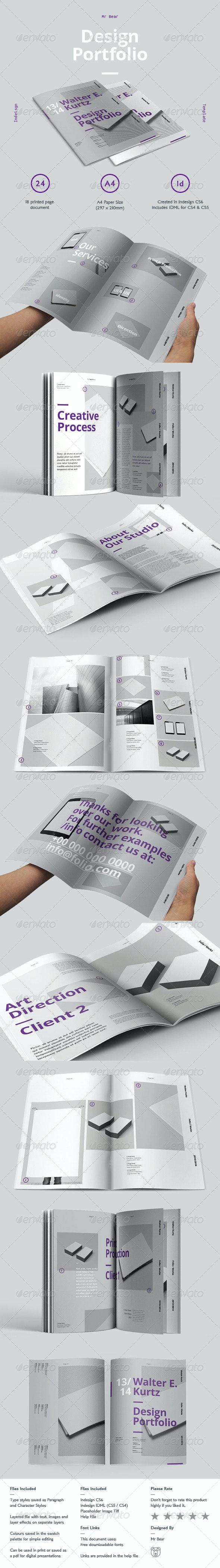 Mr Design Portfolio - Print Templates