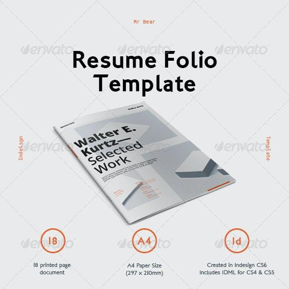 Mr Resume Pack