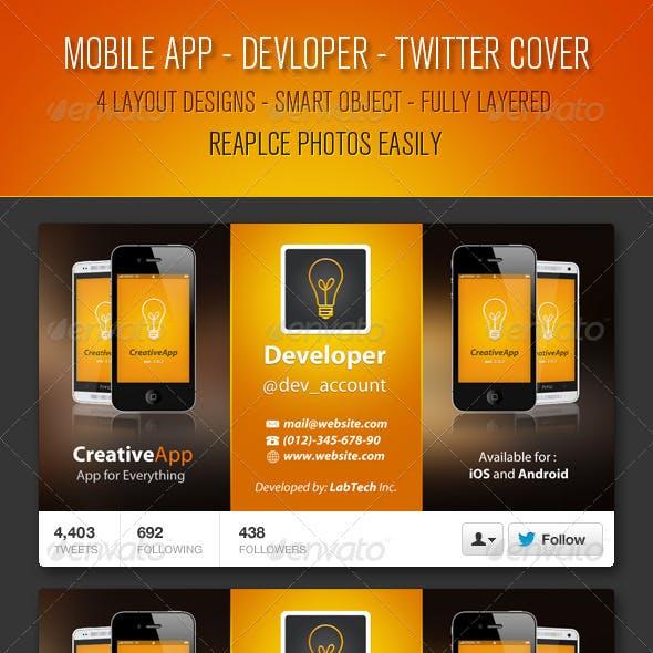Mobile App Developer Twitter Cover
