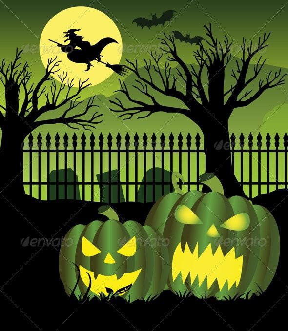 Halloween Witch Night - Halloween Seasons/Holidays