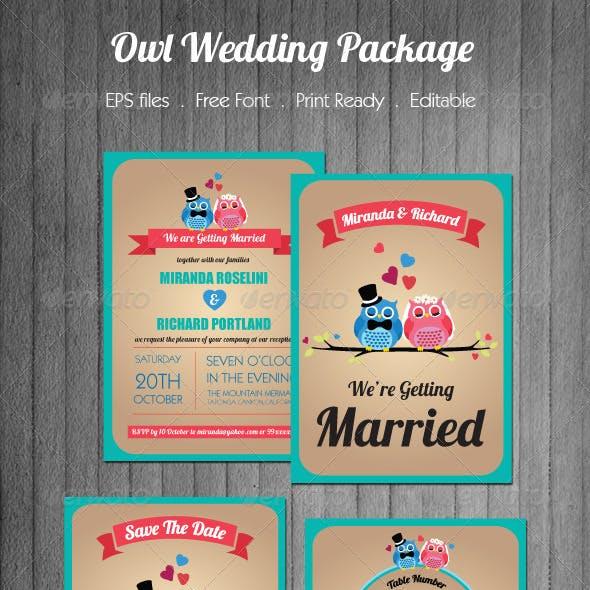Owl Wedding Package