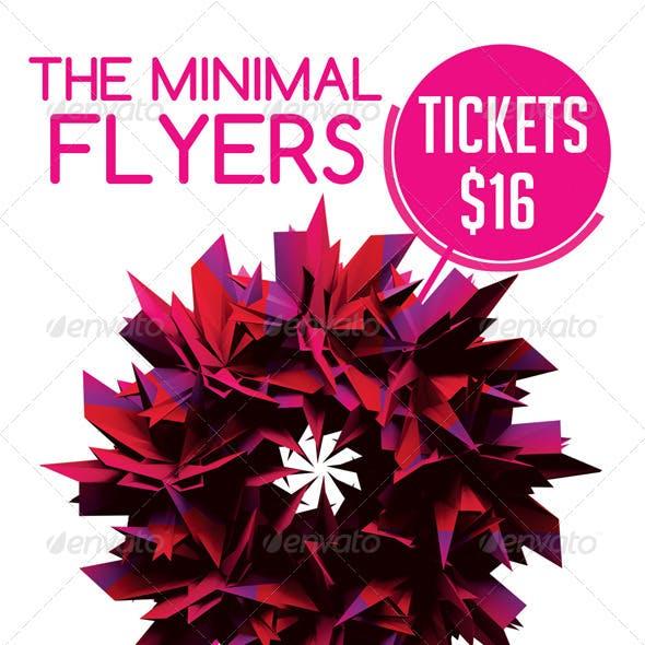 Minimal Flyer Vol.1