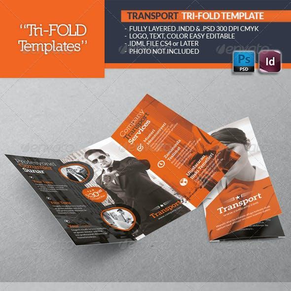 Transport Tri-Fold Template