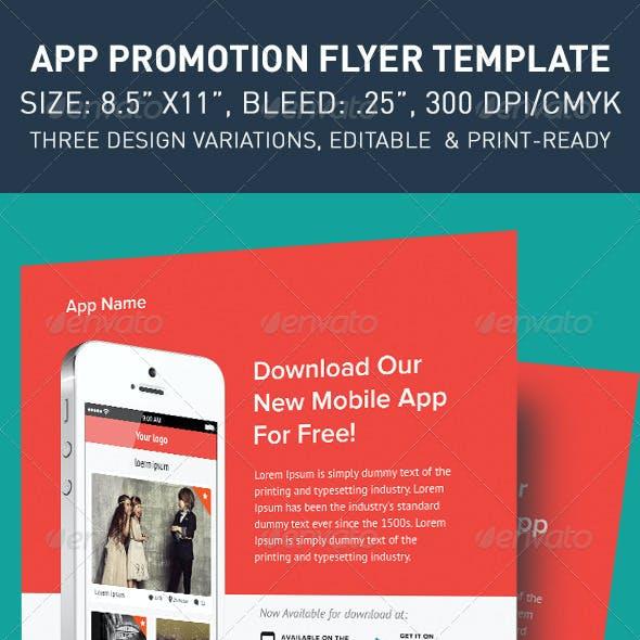 Modern App Flyers