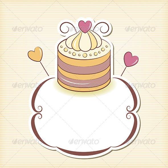 Cupcake Design Frame
