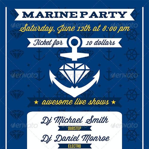 Marine Anchor Flyer