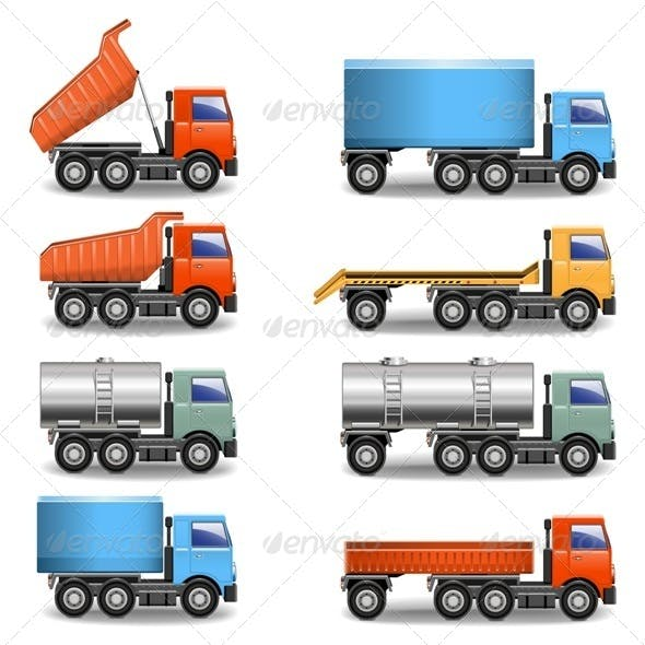 Vector Truck Icons